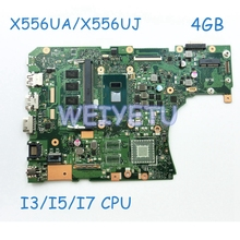 X556UA Main_BD._4G/I5-6200U/AS GM Motherboard for asus laptop