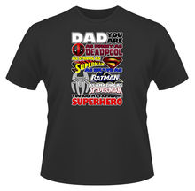 Mens T-Shirt, Dad You Are A Superhero, Ideal Gift or Present New T Shirts Funny Tops Tee New Unisex Funny Tops Tops Tshirt Homme цена