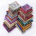 Pañuelo 100% de satén de seda Natural para hombre del pañuelo de moda banquete de boda Classic Pocket Square # a9