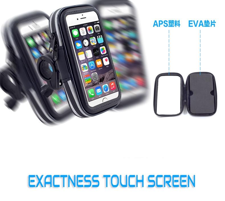 Bicycle phone Bag For iPhone 6 7 8 Frame Front Head Top Tube Waterproof Cycling Bike Bag 4.0-6.3 Inch Bike Accessories