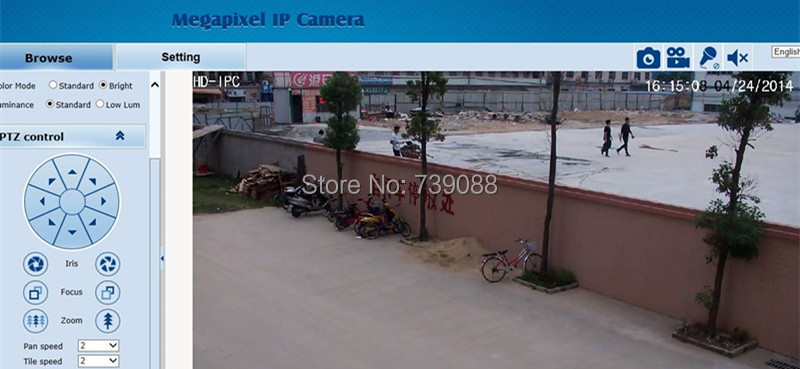 Full HD 1080P 2 megapixel 10X optical zoom 50m IR night vision outdoor p2p Mini PTZ POE CCTV camera Onvif ip Network speed dome