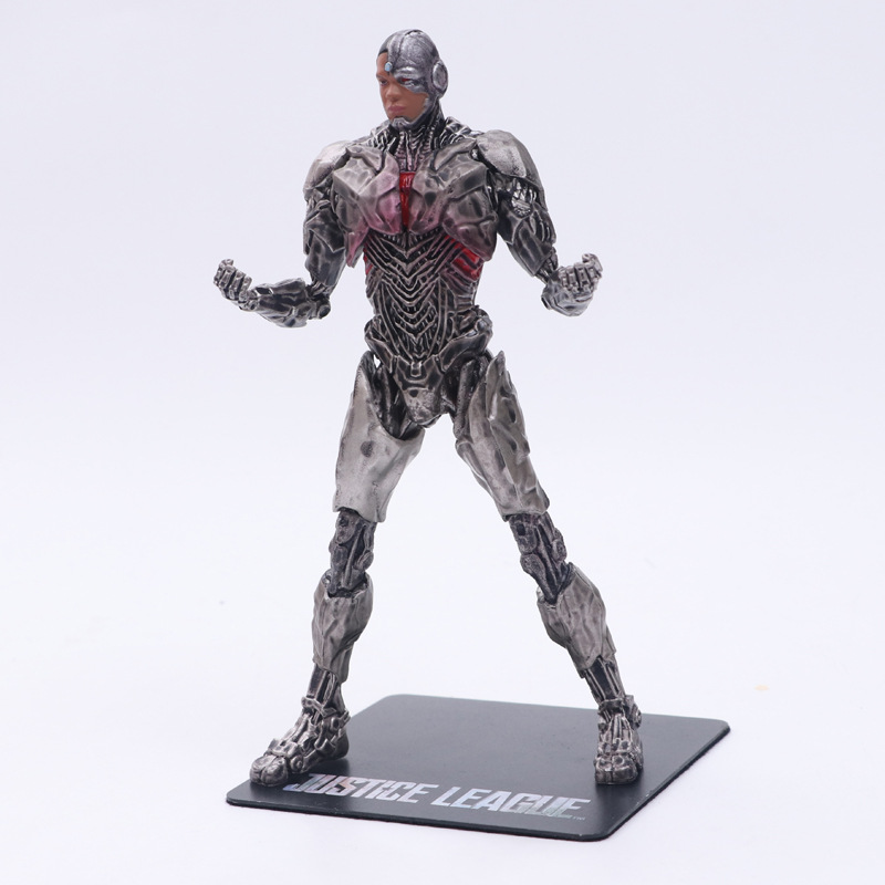 Justice League Cyborg Victor Stone PVC Figure Statue Toy kids Gifts New ARTFX