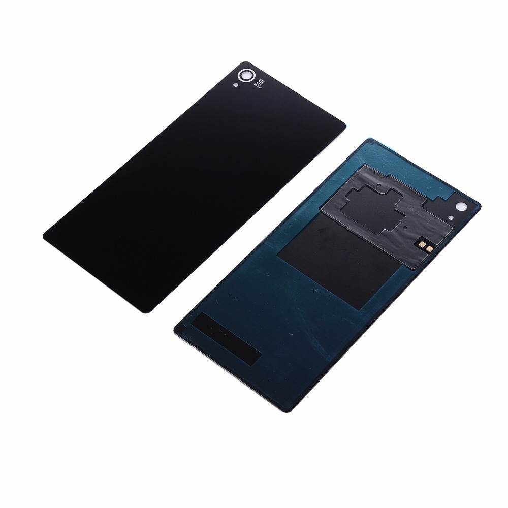 For Sony Xperia Z3 D6603 D6653 Back Battery Cover Rear Door Housing Glass Case Replacement For SONY Z3 Battery Cover With NFC