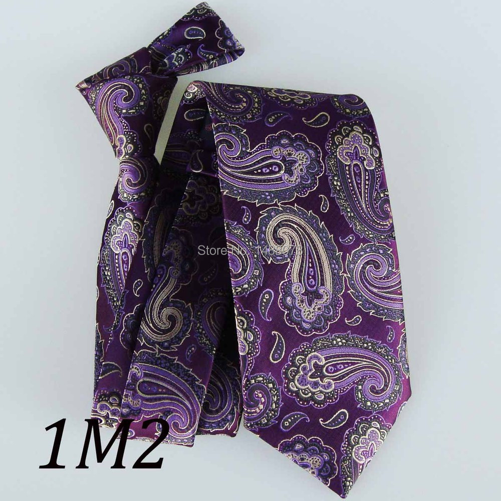 Purple Paisley Ties 1M2+