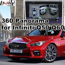 360 panorama & rear view interface for Infiniti Q50 Q60 etc LVDS RGB signal input cast screen video play