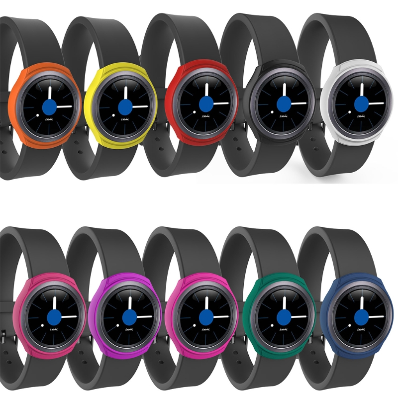 Мягкий силиконовый защитный чехол для SamsungGalaxy gear S2 SM-R720 и SM-R730
