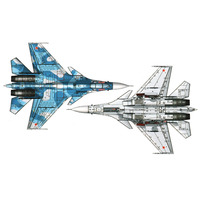 Trumpeter 1:72 Military SR Aircraft Russian Airplane Plane Chinese USA Fighter Assembled Model DIY Toy