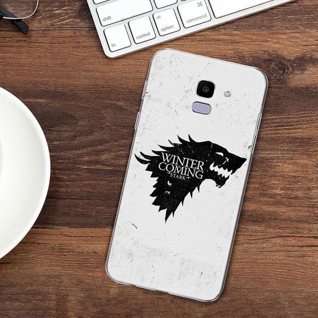 Game of Throne Phone Case For Samsung Galaxy J8 J6 J4 2018 J2 Core J5 J6 J7 Prime J3 2016 2017 EU J4 Plus