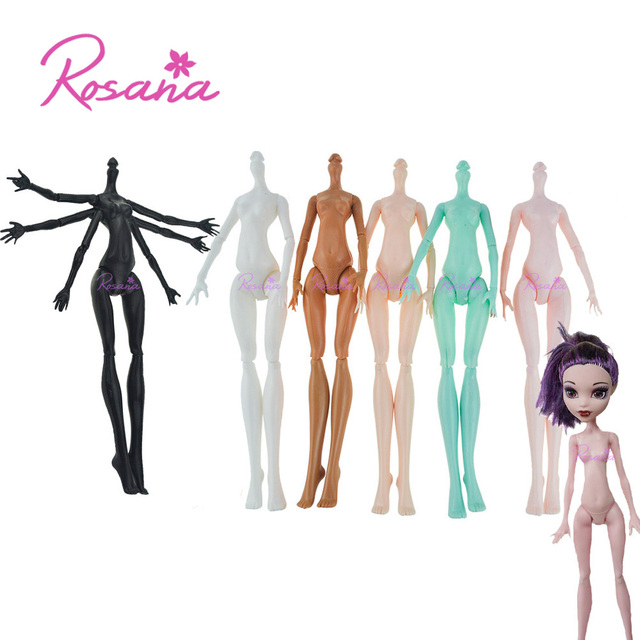 Rosana High Quality Imitation Demon Monster Doll Naked Body for Monster High Dolls DIY Fairytales 11 Rotatable Joints Dolls Toys