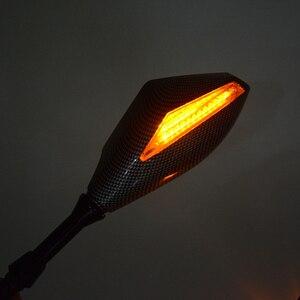 Image 4 - Motosiklet Gösterge Dikiz Yan Aynalar ve Entegre LED Dönüş Sinyalleri KTM DUKE200 390 690 Motosiklet Sokak bisikletleri Cruiser