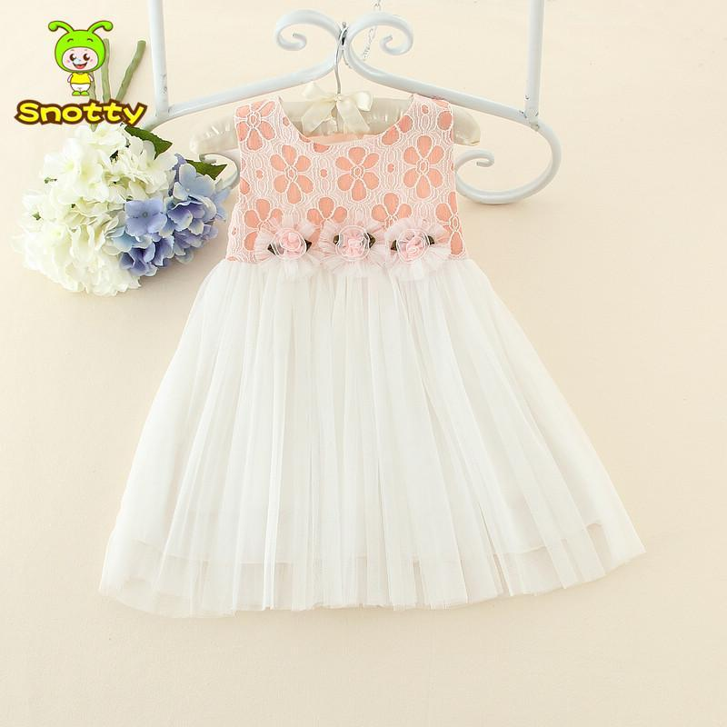 Elegant Chiffon Baby Girl Dress For 12 24 Month Old Baby