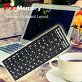 russian laptop Keyboard Sticker Standard RU Layout Durable Laptop Desktop Computer Keyboard Sticker