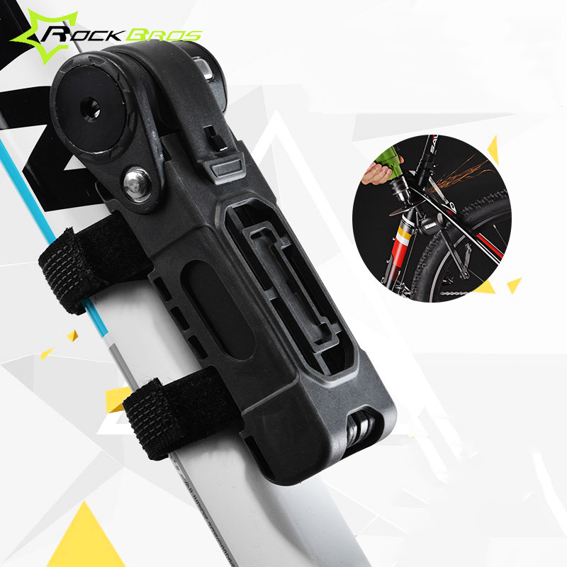 все цены на  ROCKBROS Bicycle Lock Anti-Theft MTB Cycling Lock Anti Shear Cycle Lock Mountain Road Bike Lock Bike Accessories Bicycle Parts  онлайн