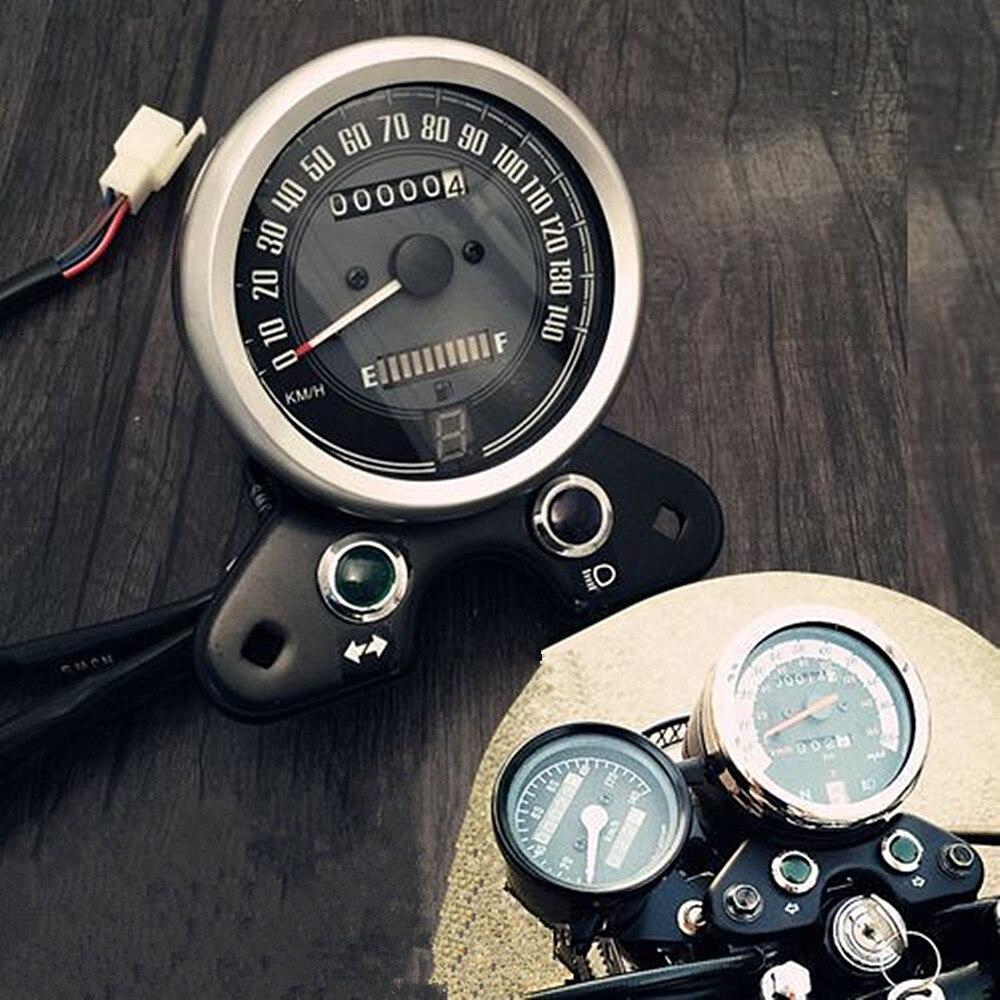 Cafe Racer Motorcycle Odometer Speedometer Gear digital display for Honda CG125 have USB