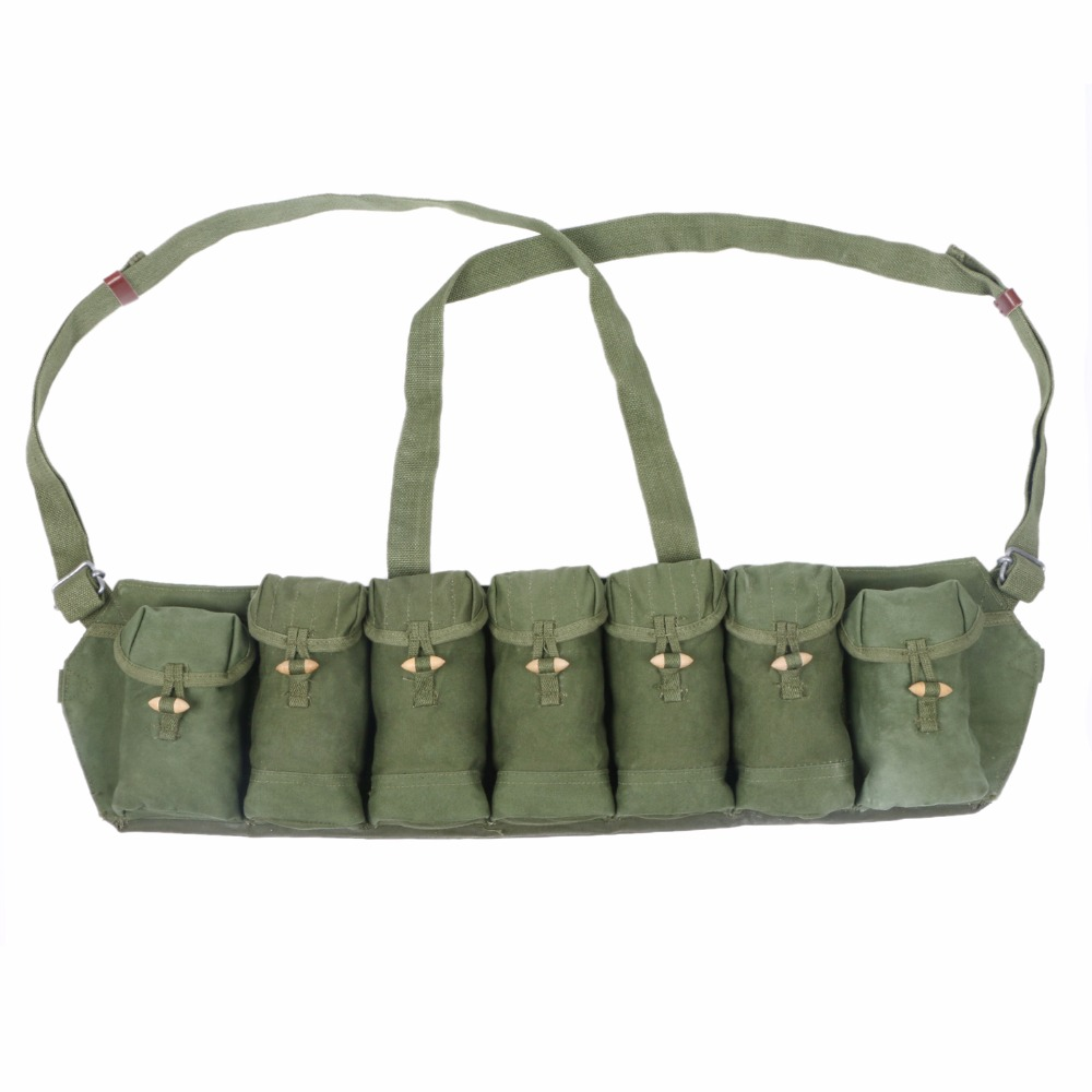 Chinese Military Surplus SKS Type 63 Chest Rig Bandolier Ammo Pouch