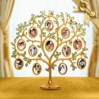 Creative wedding New Year girlfriends girls practical DIY wedding gifts photo frame custom desktop tree ornaments frame