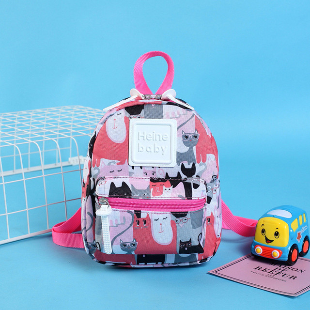 Kids New Baby Cute Backpack 2018 Barnd New Solid Color Little Kitten Mini  Mummu Bags Free Drop Shipping 65c82f89dd297