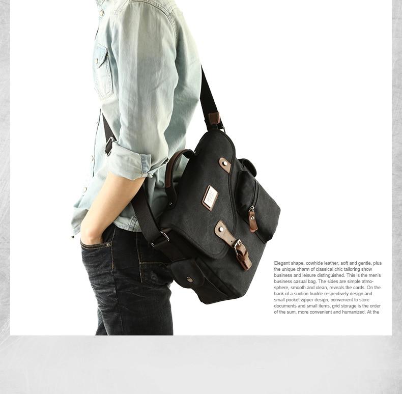 a guy carrying a black shoulder bag