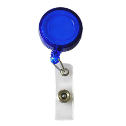 Domire Retractable Ski Pass ID Card Badge Holder Key Chain Reels With Clip Dark Blue