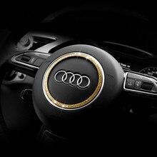 1 шт. Роскошный Кристалл рулевого колеса автомобиля bling украшения для Audi A3 Q5 SQ5 TTS A5 A4L интерьер аксессуары