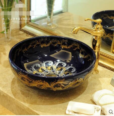 Вымойте лицо к мойке на керамическая раковина phnom penh круговой контракт искусства