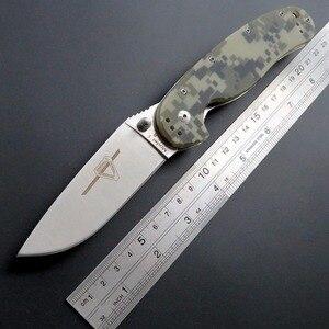 Image 1 - Eafengrow หนูมีด R1 ยุทธวิธีมีดพับ AUS 8 ใบมีดพกพามีด G10 จับเครื่องมือกลางแจ้ง EDC Camping Survival มีด