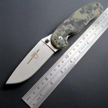 Eafengrow Rat knife R1 Tactical Folding Knife AUS-8 Blade pocket knives G10 Handle outdoor Tool EDC Camping Survival Knife недорого