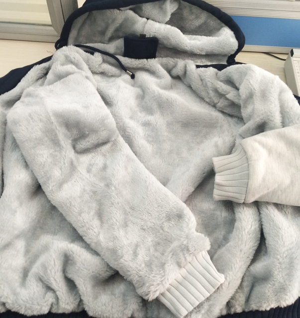 Animal Owl Funny Jackets New Style Winter Warm Fleece Sweatshirt Men  4
