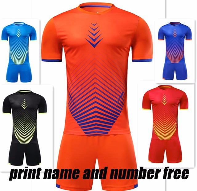 c3ae47209 kids blank soccer sets boys football jerseys children soccer kits sports  suits running uniforms can customized