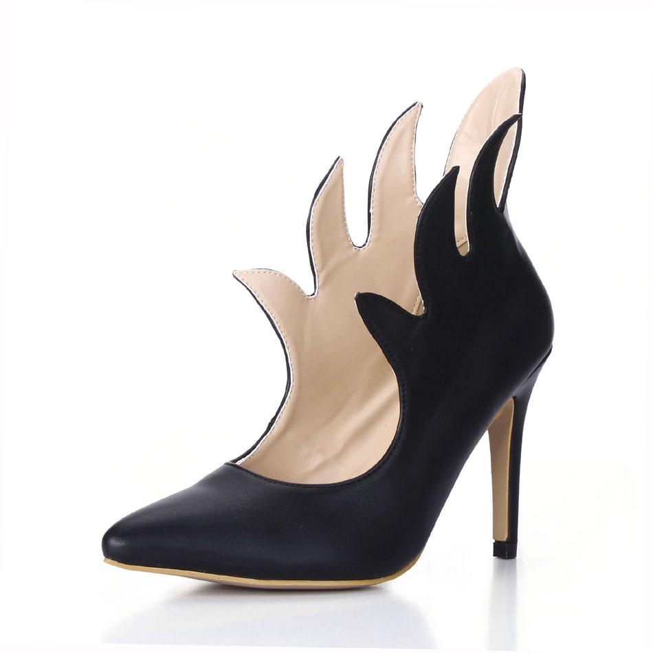 CHMILE CHAU Sexy Fashion Party Shoes Women Pointed Toe Stiletto High Heels Rave Club Ladies Ankle Boots Zapatos Mujer 70887BT V2 in Ankle Boots from Shoes