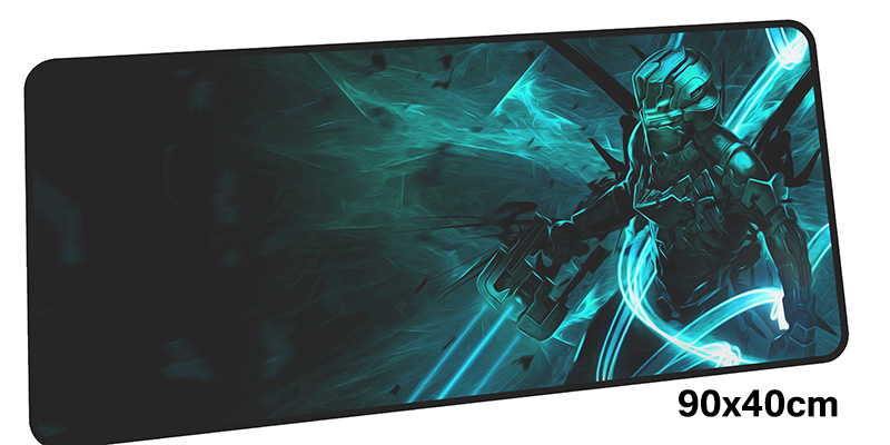 dead space mousepad gamer 900x400X3MM gaming mouse pad large Mass pattern notebook pc accessories laptop padmouse ergonomic mat
