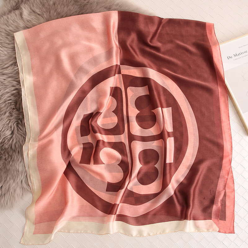 Women Pashmina Silk Scarf Fashion Printed Lady Shawls and Wraps Foulard Female Hijab Beach Scarves Sunscreen Band in Women 39 s Scarves from Apparel Accessories