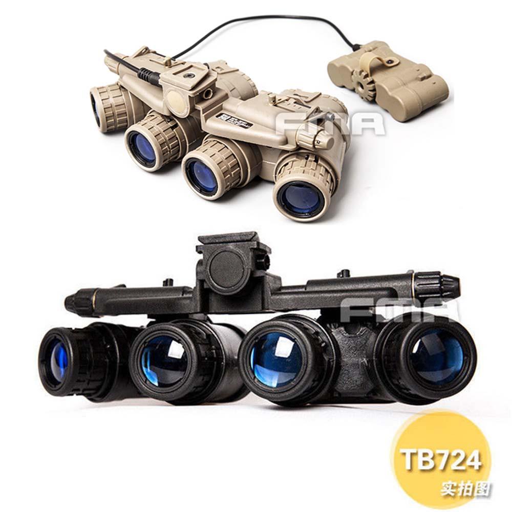 FMA Tactical Helmet Accessories GPNVG 18 Night Vision Goggle NVG DUMMY Model TB723 BK/DE