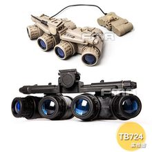 FMA Tactical Helmet Accessories GPNVG 18 Night Vision Goggle NVG DUMMY Model TB723 BK/DE(China)
