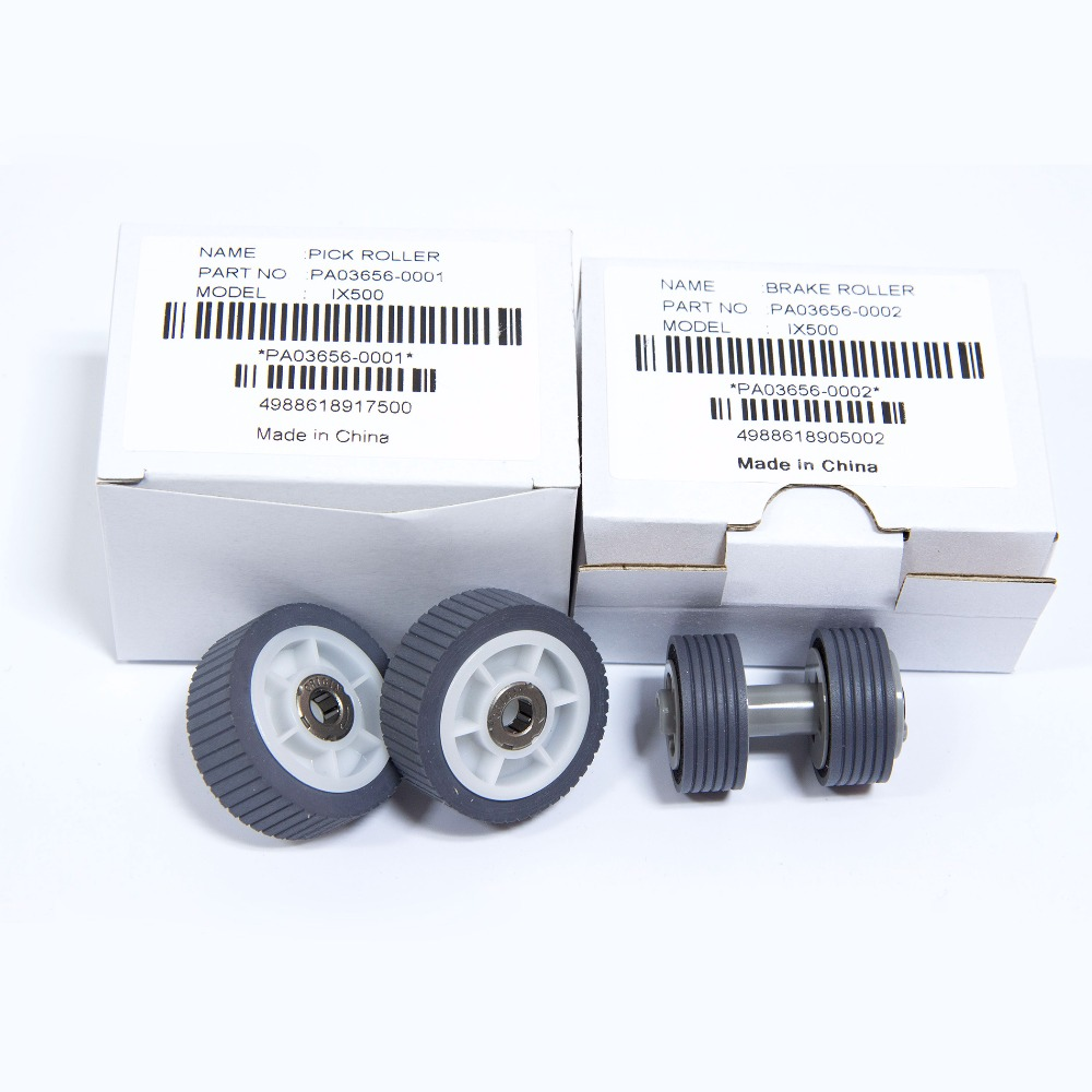 PA03656-0001 PA03656-0002 for Fujitsu IX500 Pick Roller and Brake Roller Assy цена 2017