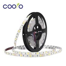 SMD 5050 RGB+ CCT 5 в 1 Светодиодные ленты свет лампы нет Водонепроницаемый 5 M 300 Светодиодная лента DC12V 24 V RGB CCT гибкие светодиодные полосы