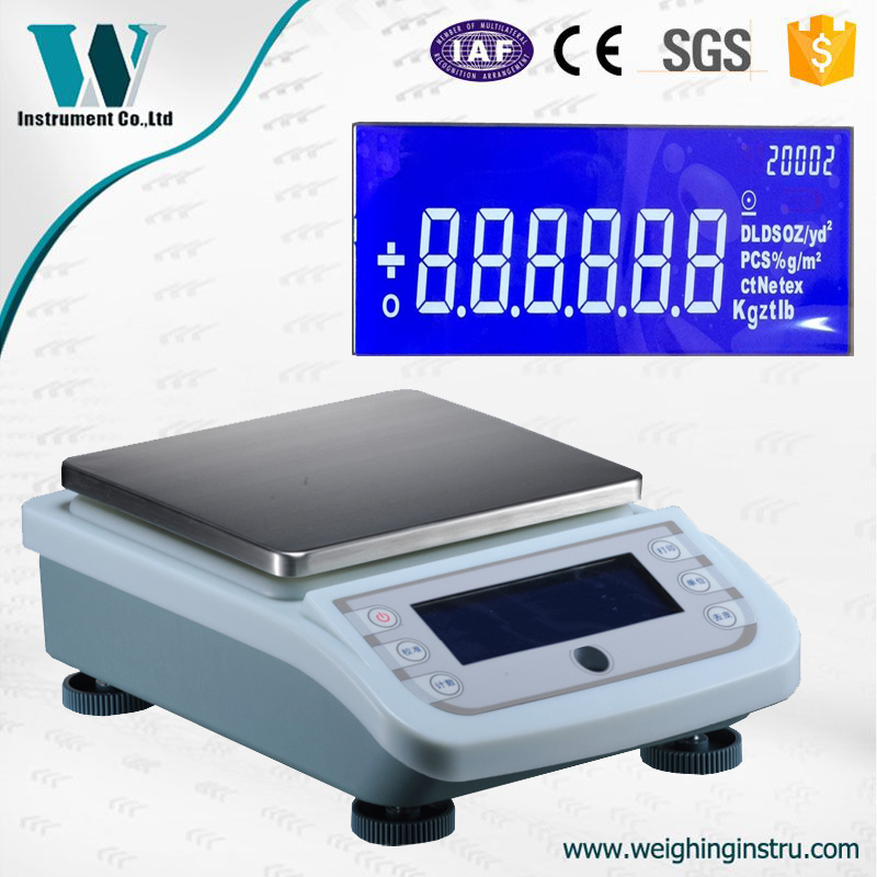 5000g 5kg 0.01g Automatic Calibration Commercial Scale