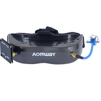 New Hot Aomway Commander Goggles V2 3D 5.8G 64Ch 1080P 800X600 SVGA FPV Video Headset Support HDMI DVR FOV 45 For RC Model