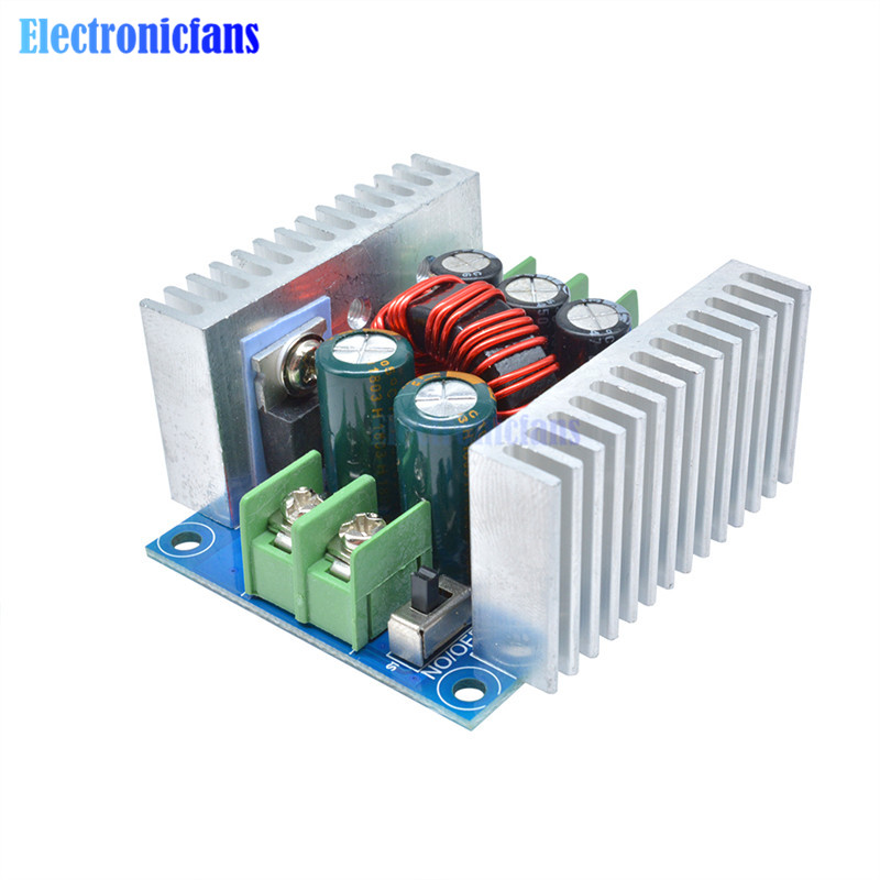 Image 4 - 300W 20A DC DC Buck Converter Step Down Module Constant Current LED Driver Power Step Down Voltage Module Electrolytic Capacitor-in Integrated Circuits from Electronic Components & Supplies