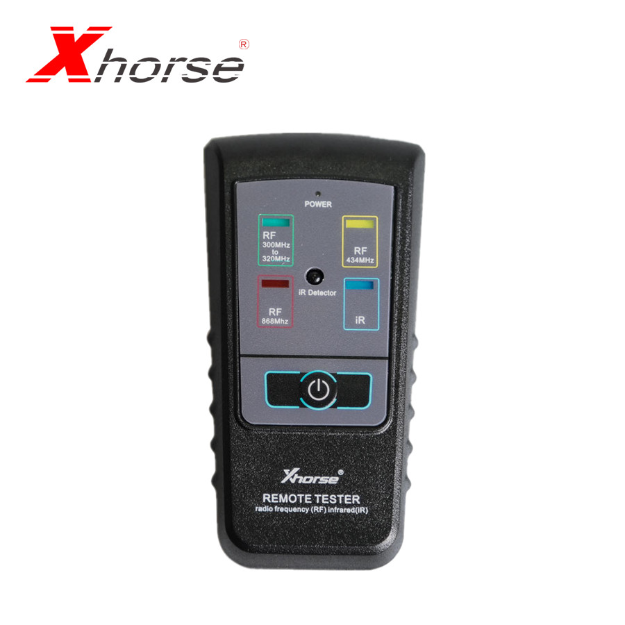 XHORSE Remote Tester For Radio Frequency Infrared For 300Mhz-320hz 434Mhz 868Mhz