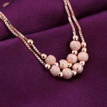 2015 Fashion Lucky Beads Anklets Foot Chain Women Charm Fine Jewelry Free Shipping Body-0274