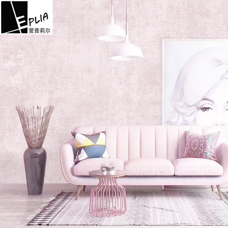 10 M x 53 cm lin Non-tissé tissus papier peint auto-adhésif meubles rénovation autocollants étanche cuisine porte bois décoratif