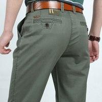 3 Colors 30 42 Fashion Cotton Business Formal Men Casual Long Pants Men S Clothing Army