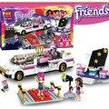 278 unids Sheng Yuan Amigos Pop Star Limo Juguetes de Bloques de Construcción Ladrillos Amigas LEPIN Compatible Con legoe Amigos