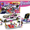 278pcs Sheng Yuan Friends Pop Star Limo Building Blocks Bricks Girl Friends Toys LEPIN Compatible With legoe Friends