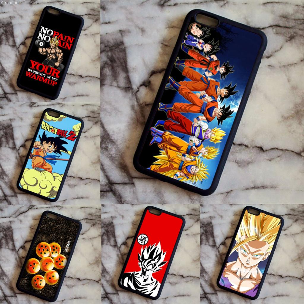 Arsmundi Dragon Ball Z Goku Flying On Kinto Cloud goku modo originale del Phone Cases for iPhone Case Soft TPU Rubber Silicone