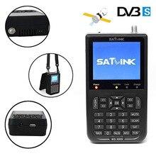 Satxtrem Satlink WS 6906 Sat V8Findermini Mini Dgital DVB S2 FTA Receptor Satellite Meter Supports QPSK Satlink Satellite Finder