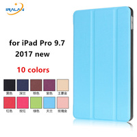New Model Case For IPad Pro 9 7 Inch 2017 Ultra Slim Magnetic PU Leather Smart