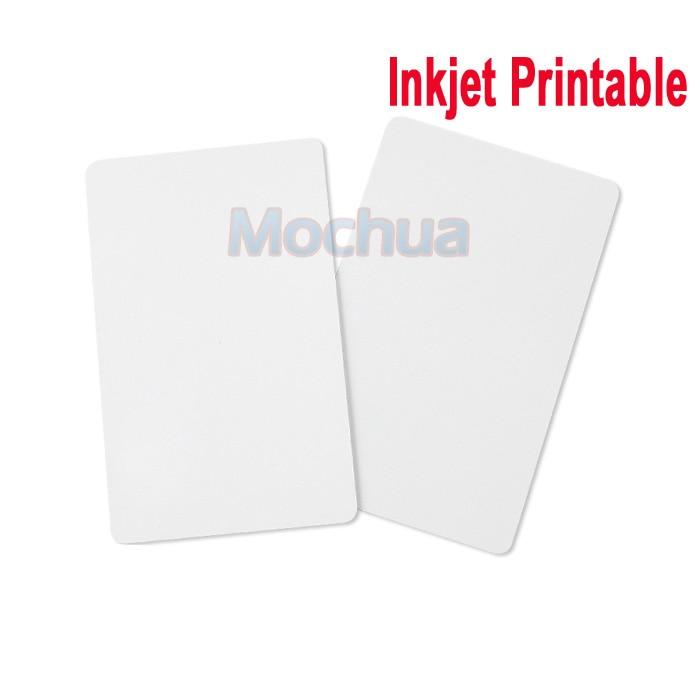 125KHz EM4100 Inkjet Printable Card 125KHz Cards For Espon Printer, Canon Printer