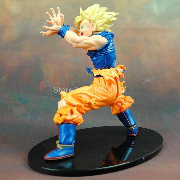 Anime Dragon Ball Z Son Goku Super Saiyan PVC Action Figure Collectible Model Toy 17CM KT4200 1